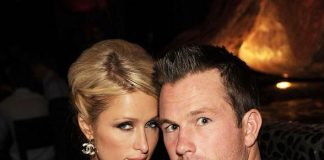 Paris Hilton and Doug Reinhardt at TAO
