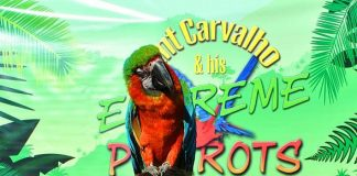 Clint Carvahlo and His Extreme Parrots Take Wing at The Springs Preserve