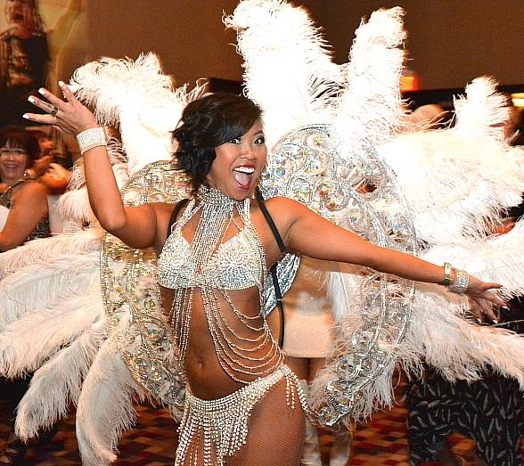 Cast of FANTASY, Chippendales, Frank Marino's Divas, Penn & Teller, Michelle Johnson and more at Aid for AIDS of Nevada 31st Annual