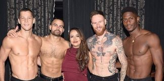 Patty Rodriguez Attends Magic Mike Live at Hard Rock Hotel & Casino in Las Vegas