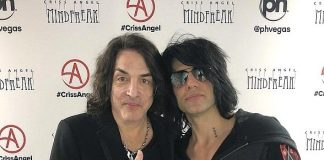 Legendary KISS Singer/Guitarist Paul Stanley Attends Criss Angel's Brand-New Show, MINDFREAK at Planet Hollywood Las Vegas