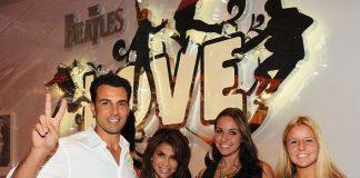 Paula Abdul Attends The Beatles LOVE by Cirque du Soleil