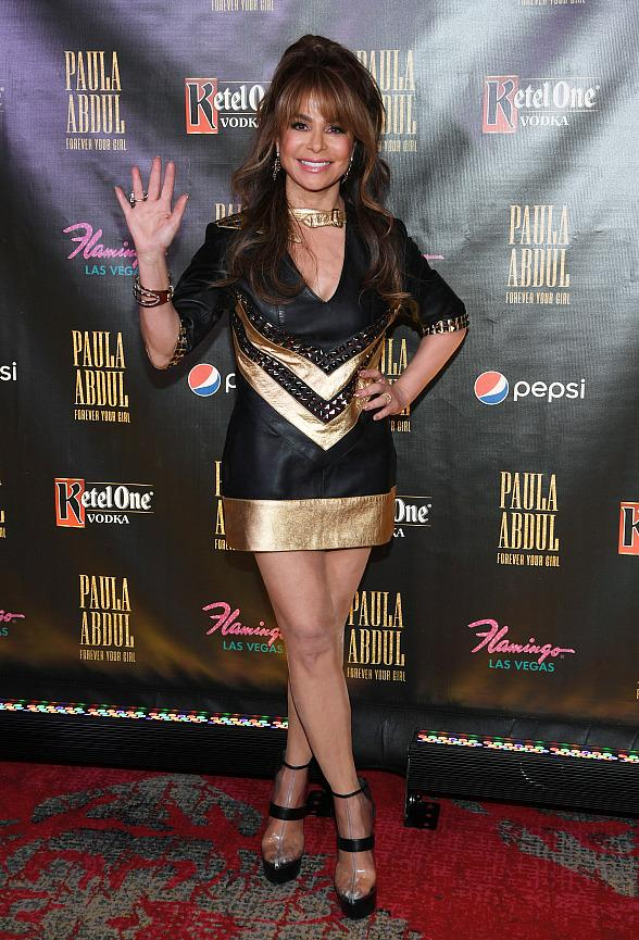 """Paula Abdul Celebrates Official Opening of Her New Residency """"Paula Abdul: Forever Your Girl"""" at Flamingo Las Vegas"""