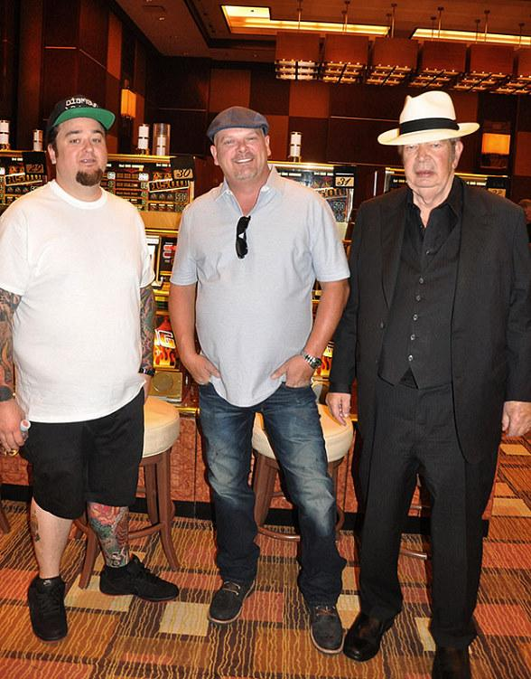 Pawn Stars with guests at Golden Nugget Las Vegas