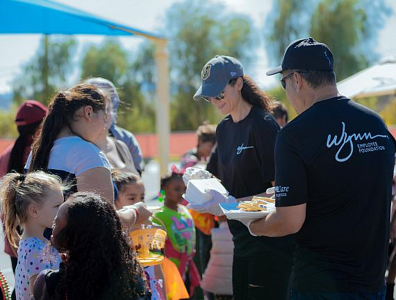 Wynn Las Vegas Employees Volunteer More Than 500 Hours During