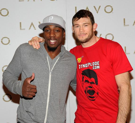 Phil Davis and Forrest Griffin at LAVO