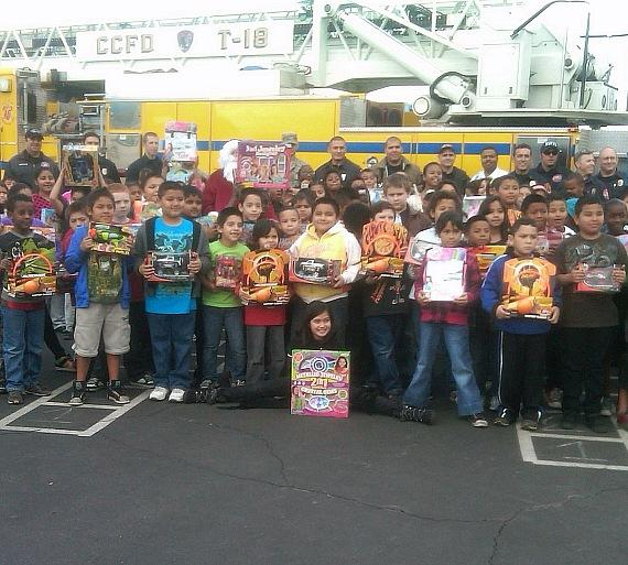 """Firefighters of Southern Nevada Burn Foundation to Kick Off 13th Annual """"Fill The Fire Truck"""" Toy Drive"""