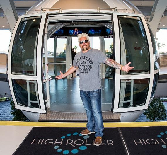 Guy Fieri Celebrates One Year Anniversary of Guy Fieri's Vegas Kitchen & Bar at The LINQ Hotel & Casino