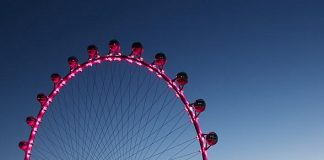 High Roller, World's Tallest Observation Wheel, to Turn Five on March 31