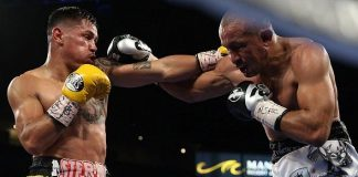 """Miguel 'Mickey' Roman Defeats Orlando 'Siri' Salido in Fight of the Year Candidate and Main Event of """"HBO Boxing After Dark"""" at Mandalay Bay Resort and Casino in Las Vegas"""