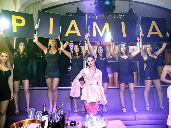 International Model Pia Mia Celebrates 21st Birthday at Hyde Bellagio; Jamie Foxx and Keke Palmer Also Spotted at the Fountain-Side Hotspot
