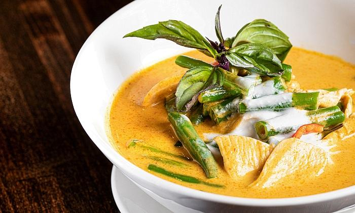 Pin Kaow Panang Chicken Curry - Photo credit: Chris Wessling