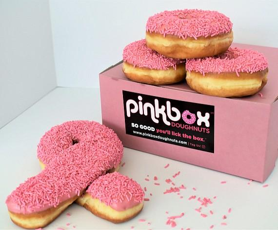 Think Pink at Pinkbox Doughnuts in Honor of Breast Cancer Awareness Month