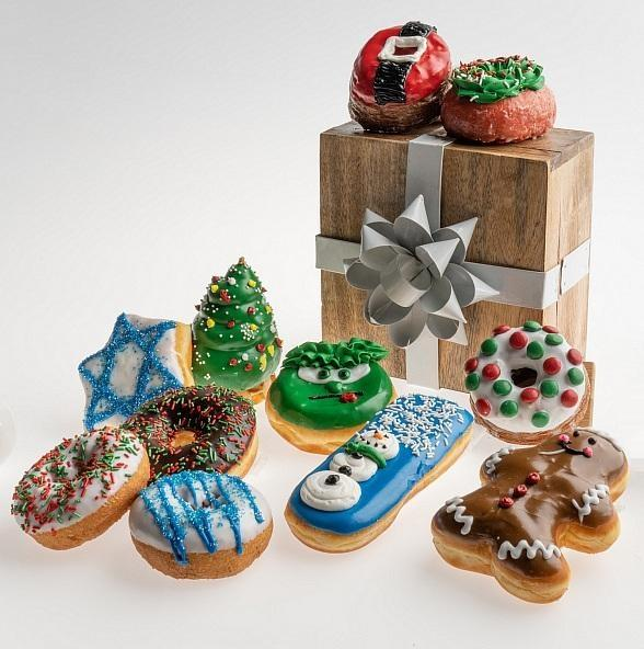 Pinkbox Doughnuts to Spread Holiday Cheer with Festive Doughnuts in December