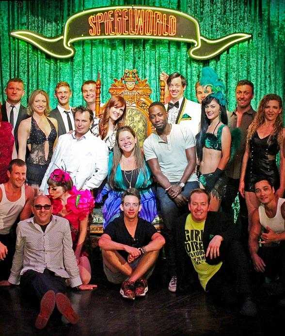 TV Stars Lamorne Morris, Kevin McHale, Willie Garson, Sara Rue and Others Attend ABSINTHE at Caesars Palace