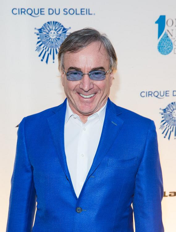 President of Cirque du Soleil Daniel Lamarre at 'One Night for ONE DROP'