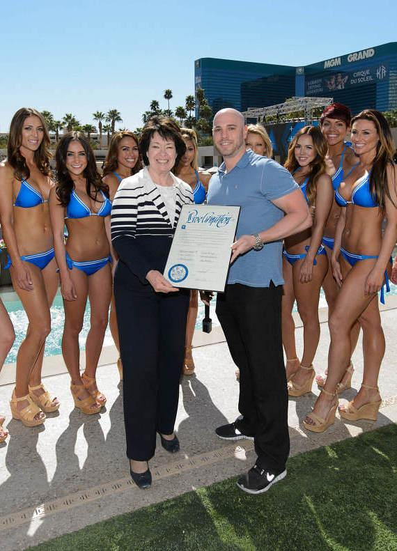 Proclamation Ceremony Toast at WET REPUBLIC