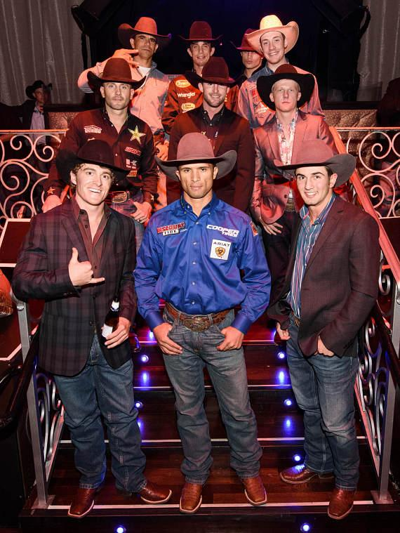 LAX Nightclub Hosts Top Bull Riders for PBR World Finals Official Launch Party