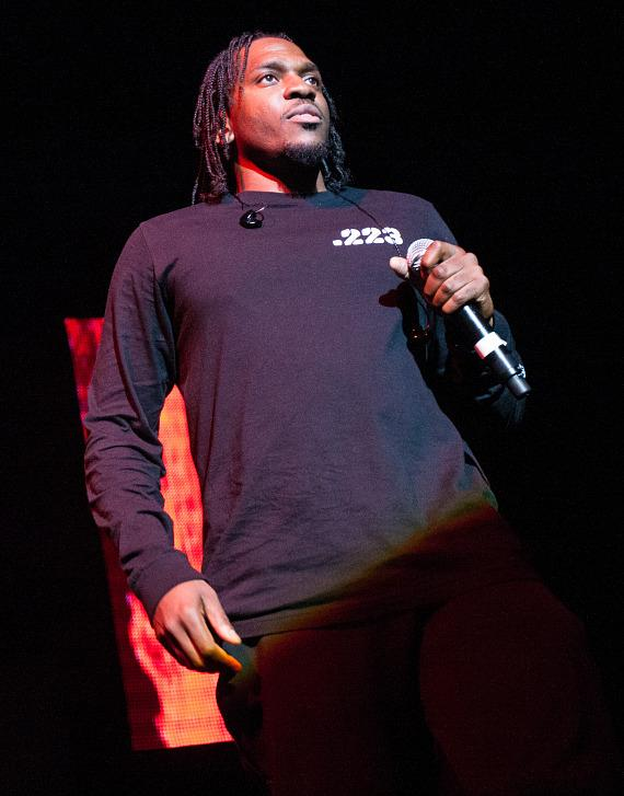 Pusha T at The Joint in Hard Rock Hotel & Casino