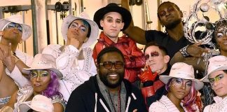 "Questlove and Rick Ross Attend ""Michael Jackson ONE"" by Cirque du Soleil"