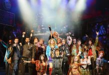 """Azure st The Palazzo Welcomes """"Rock Of Ages"""" Cast for Poolside Carnevale Celebration August 4"""