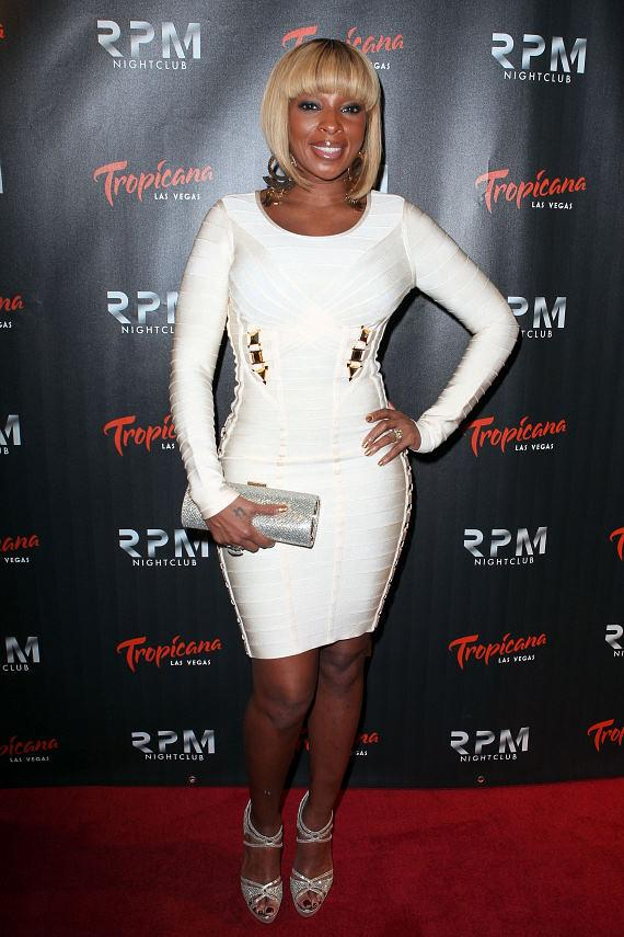 """""""Queen of Hip Hop Soul,"""" Mary J Blige at RPM Nightclub"""