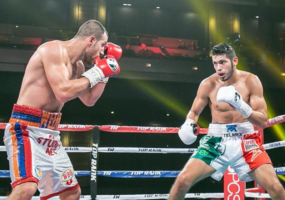 Super Middleweight Gilberto 'Zurdo' Ramirez wins 10 round decision over Gevorg Khatchikian at The Cosmopolitan of Las Vegas