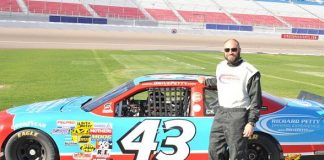 UFC Legend Randy Couture Drives a Race Car at Richard Petty Driving Experience