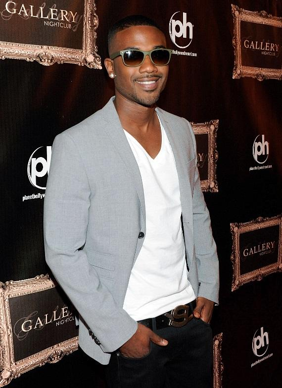 Ray J on the red carpet at Gallery Nightclub at Planet Hollywood Resort & Casino