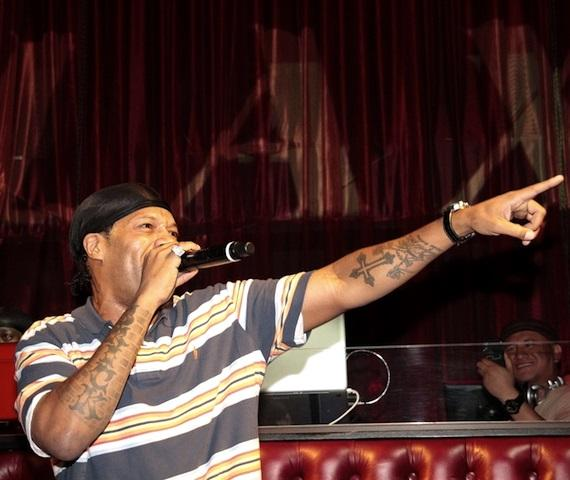 Hip-Hop Artist Redman Performs at LAX Nightclub