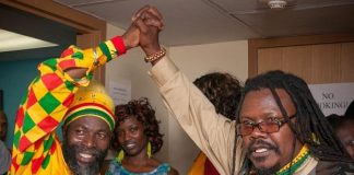 Capleton and Luciano Spotted at 12th Annual Reggae in the Desert