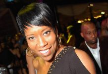 Regina King celebrates birthday at Beso and Eve in Las Vegas