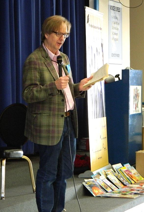 Mac King's Magical Literacy Tour Delivers Magic, Books and Laughs During Nevada Reading Week