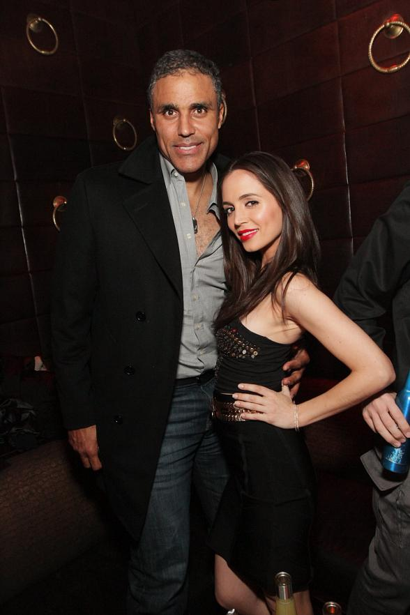 Rick Fox and Eliza Dushku party at TAO and LAVO