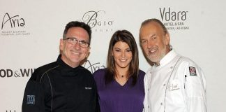 Rick Moonen, Gail Simmons and Hubert Keller