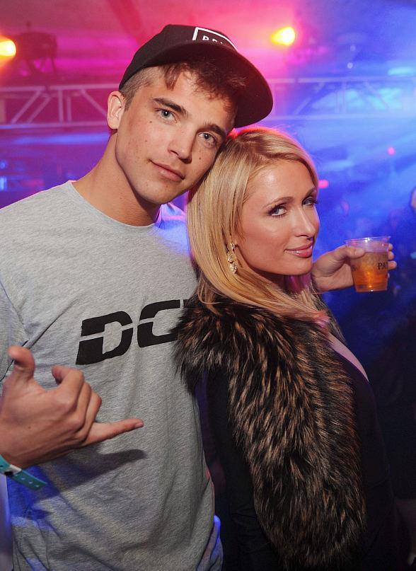 Rivers Viiperi and Paris Hilton