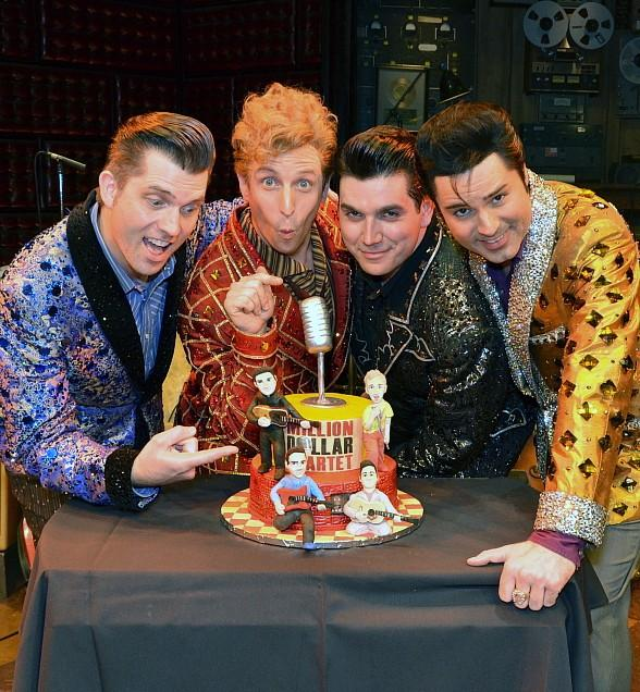 Million Dollar Quartet kicks off 60th Year since that Legendary Dec. Night with Rockin' #TBT Ticket Offer