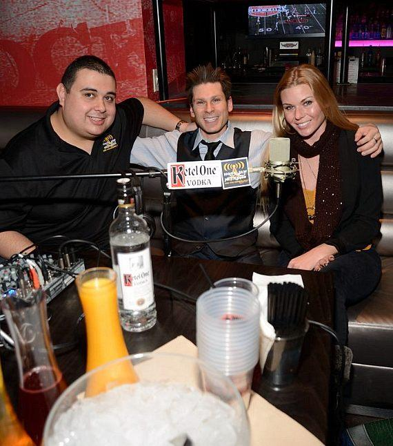 "Robert Blasi, Mike Hammer Christina ""CC"" Christensen at PBR Rock Bar"