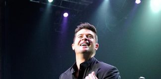 Robin Thicke Kicks Off New Year's Week at Pearl Concert Theater at Palms Casino Resort in Las Vegas