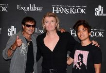 """America's Got Talent Winner Shin Lim and Renowned Magician Rocco Silano at """"Hans Klok: The World's Fastest Magician"""" at Excalibur Las Vegas"""