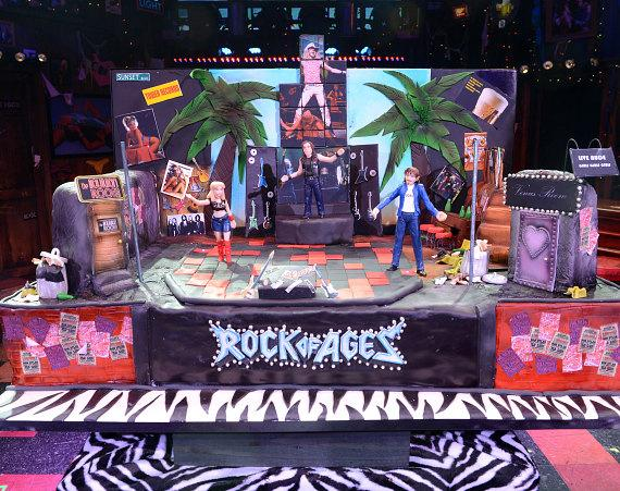 Rock of Ages Las Vegas Second Anniversary Cake Designed By Carlo's Bakery at The Venetian Las Vegas