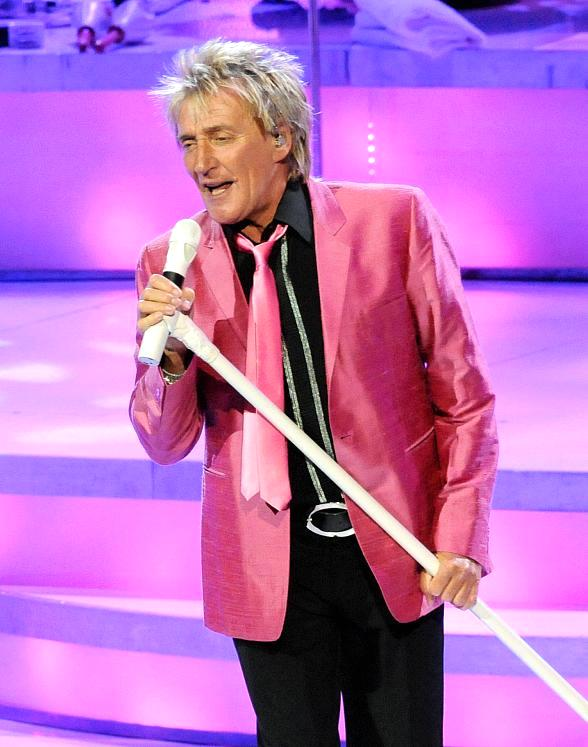 "Rod Stewart kicks off his first Las Vegas residency ""Rod Stewart: The Hits"" at The Colosseum at Caesars Palace"