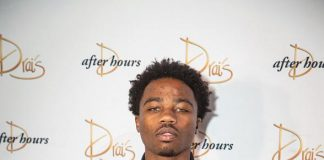Rapper Roddy Ricch Celebrates 21st Birthday at Drai's Nightclub at The Cromwell