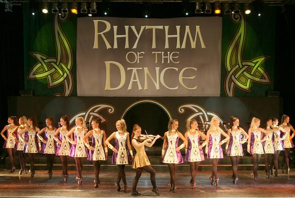Rhythm of the Dance, an Irish Dance Spectacular, at The Orleans Showroom St. Patrick¹s Day Weekend March 14-16