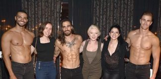 """Ruby Lewis Attends """"Magic Mike Live"""" at Hard Rock Hotel & Casino Las Vegas"""
