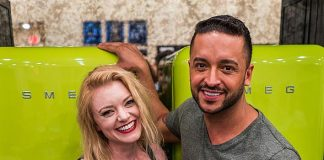 Jai Rodriguez and Ruby Lewis Attend High Roller Launch at NuLeaf Las Vegas