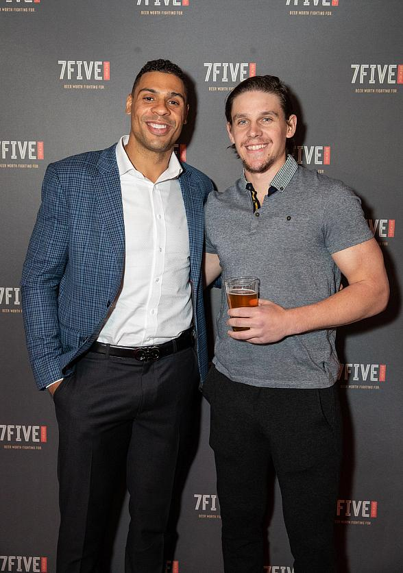 Vegas Golden Knights Player Ryan Reaves Launches 7Five Brewing Co. at Hyde Bellagio Alongside Alex Tuch, Erik Haula, Jonathan Marchessault, Marc-Andre Fleury and Paul Stastny