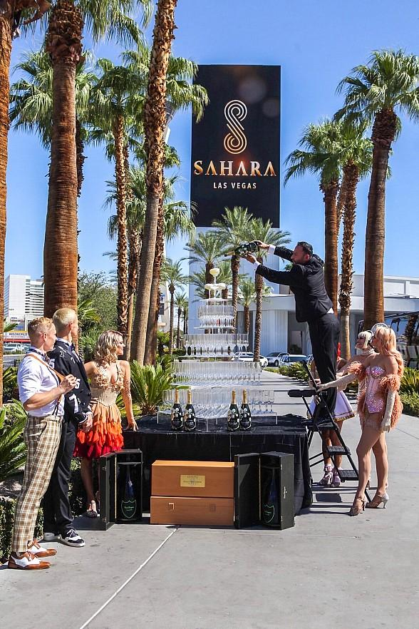 SAHARA Las Vegas Officially Debuts on the Las Vegas Strip
