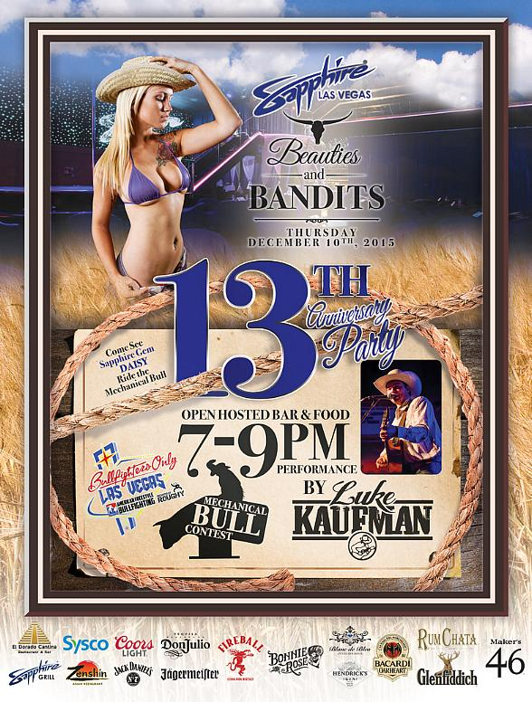 Sapphire, The World's Largest Gentlemen's Club, Celebrates 13th Anniversary Dec. 10 with a