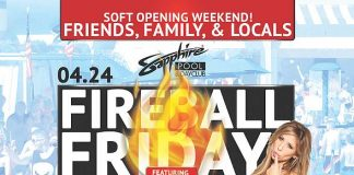 "Sapphire Pool & Day Club to host a ""Friends & Family"" Soft Opening on April 24-26"